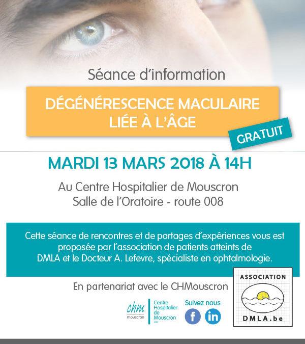 13 mars 2018 : séance d'information